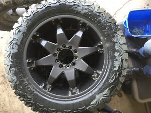 FUEL OCTANE RIMS AND HAIDA RUBBER