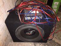 Subwoofer / Amp / wiring kit