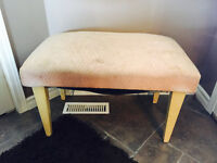 Antique foot stool for sale.