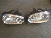 Standard Mk4 Golf headlights