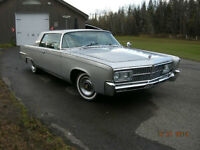 CHRYSLER IMPERIAL CROWN 2 DR HT 1965
