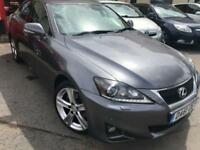 2012 61 LEXUS IS 2.5 250 ADVANCE 4D AUTO 205 BHP