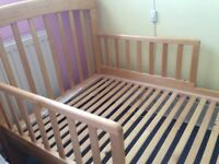 John Lewis Anna Junior bed with mattress