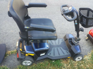 MOBILITY TRAVAL SCOOTER/EXC COND/GOOD BATTERIES
