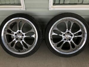 20 inch Akuza Road Concept rims for Ford Mustang