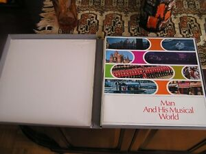 Expo 67-Man & His Musical World- 8 records from the World's Fair West Island Greater Montréal image 2
