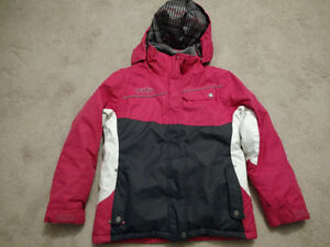 FALL WINTER GIRL'S SPORTS SNOWBOARD SKI JACKET COAT XMTN FUCHSIA