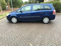 VAUXHALL ZAFIRA 1.6 2008 (58) ONLY 53000 MILES!!