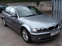 BMW 318 2.0 2004 ES DIESEL,FULL HISTORY,1 PREVIOUS OWNER ,AUGUST 2018 MOT