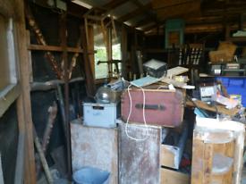 Job lot Vintage furniture for upcycling