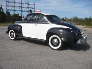1941 Plymouth 2 door Coupe - Movie Prop Car