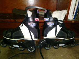 Mens size 7 roller blades USED ONCE $50 OBO