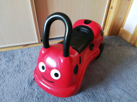 Ride-On Ladybird Early Learning Centre.