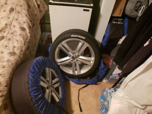 225/40/R18 rims and tire 4pc