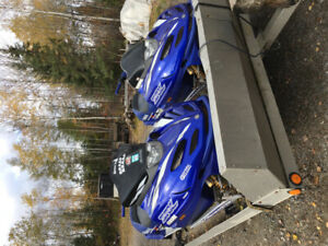 I have two SRX snow machines for sale both are 2001.