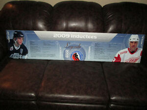 Steve Yzerman Hockey Hall of Fame Display Header - 1 Only