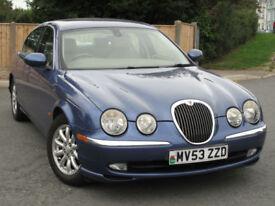 Jaguar S-TYPE SE 2.5 V6 petrol Auto : only 55k mi