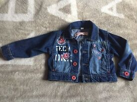 Girls denim jacket 1-2