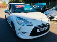 ***Citroen DS3 1.6HDi WHITE ONLY 65,000 MILES 2011***