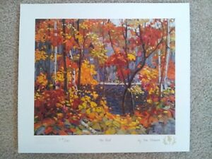 "Tom Thomson ""Northern Icons Suite 1"" Limited Edition 3 piece set"