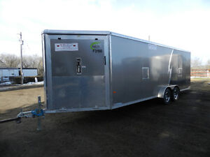 All Aluminum 2016 NEO 7'x26' Enclosed Trailer