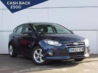 2013 FORD FOCUS 1.6 TDCi 115 Zetec Bluetooth GBP20 Tax 1 Owner