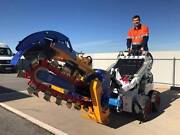 2017 TRIDENT Mini Loader Trencher fits all brands Lonsdale Morphett Vale Area Preview