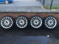 "Mg 17"" alloy wheels"
