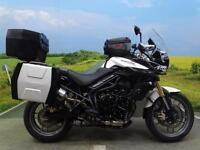 Triumph Tiger 800 ABS 2013 **Fully loaded with extras!**