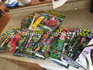 Canadian Gardening Magazines >90 issues spanning 1997-2009.