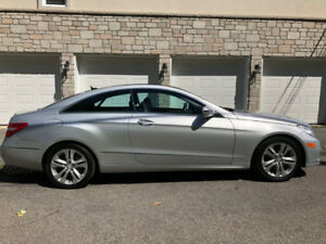 2010 Mercedes E350 Coupe NAVI , TOIT PANO CHEAPEST IN QC