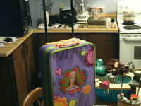 Barbie doll suitcase
