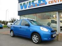2012 Nissan MICRA VISIA 5-DR *LOW MILEAGE* Manual Hatchback
