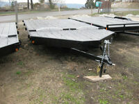 Rainbow 8.5 X 12 - 2 Place Snowmobile/ATV Trailer
