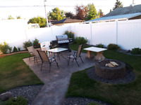 concrete and landscaping services