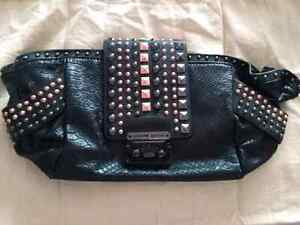 CHRISTIAN AUDIGIER BLACK STUD CLUTCH!!