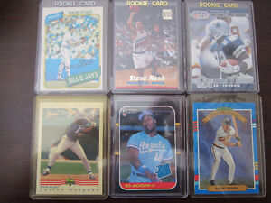 Rookie Cards and Sports Cards $4 each EX/NM/MT Windsor Region Ontario image 1