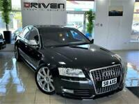 IMMACULATE! (2008)AUDI S8 5.2 V10 QUATTRO 4DR AUTO + FREE DELIVERY TO YOUR DOOR