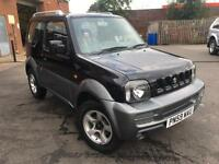 2009 Suzuki Jimny JLX PLUS Petrol black Manual