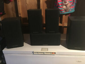 Cerwin vega 5 speaker surround sound