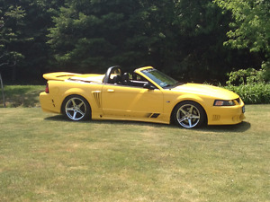 1999 Ford Mustang Saleen Speedster # 167 by S281 Convertible