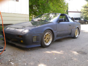 TOYOTA MR2 SUPERCHARGED 1989