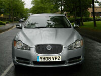 2008 08 Jaguar XF 4.2 V8 Supercharged SV8 4dr WITH FSH+TOP SPEC+FULLY LOADED