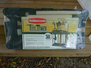 NEW - Rubbermaid Tool Tower