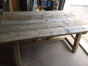 Picnic Table with Two Benches