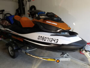 2015 Sea Doo GTX S 155 and 2017 JetMaster 1500 Trailer