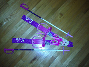 Barbie ski set. EUC