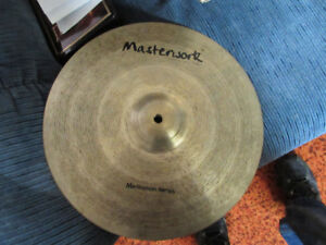 Hi End hand hammered cymbals by master work