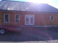 What a Steal of a deal ... Log Home, Metal Roof w/Lots of Extras
