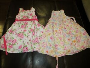 Toddler Size 5 Dresses with Crinaline layer